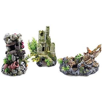 Classic For Pets Castle Ruin 225mm T&OM (Fish , Decoration , Ornaments)