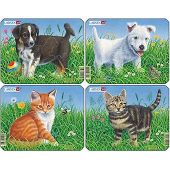 Larsen Cats And Dogs (Toys , Boardgames , Puzzles)