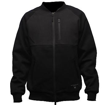 Crooks & Castles Sporthief Baseball Jacket Black