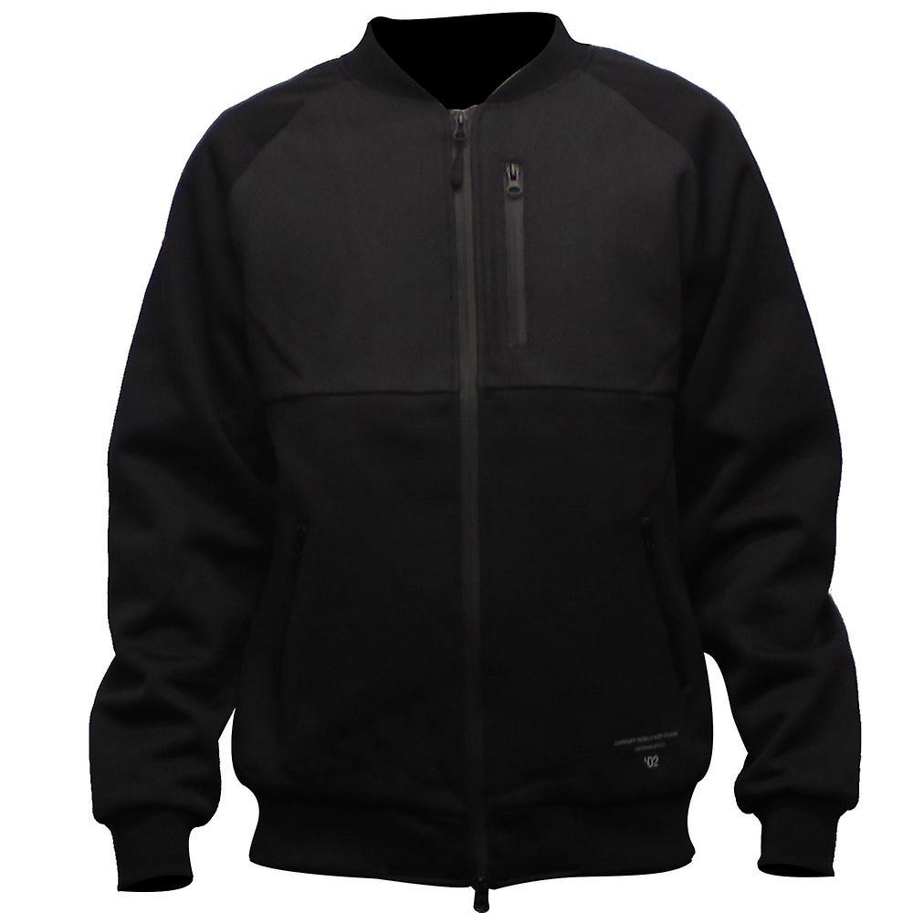 Crooks & Castles Sporthief Baseball Jacket Black
