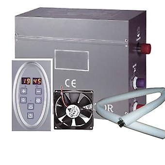4.5kW Steam Room or Shower Kit | Steam Generator 220V | Control panel | 1 Metre Steam Pipe