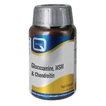 Quest Glucosamine, MSM & Chondroitin 60 tabs