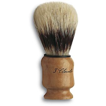 3 Claveles Shaving Brush Bristle Wood Box (Beauty , Men , Shaved off , Brushes)