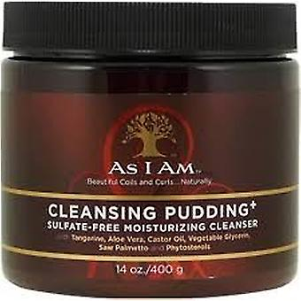 As I Am Sulfate-Free Cleansing Pudding 16oz