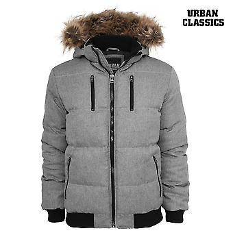 Urban classics melange expedition jacket