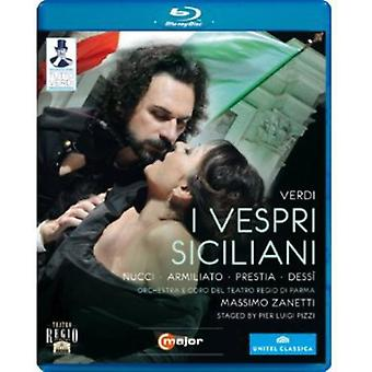 G. Verdi - I Vespri Siciliani (Blu Ray) [BLU-RAY] USA import