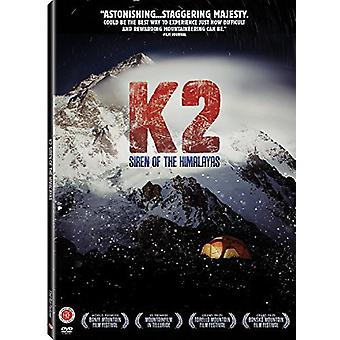 K2: Siren of the Himalayas [DVD] USA import