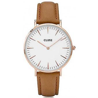 Watch Cluse Bohemia CL18011 - Slim mixed Brown