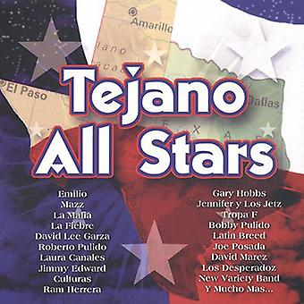 Tejano All Stars - Tejano alle stjerner [CD] USA import