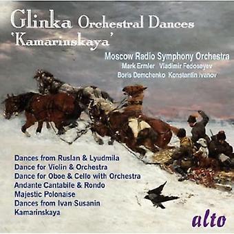 Moscow Radio Symphony Orchestra - Glinka: Orchestral danser; 'Kamarinskaya' [CD] USA import