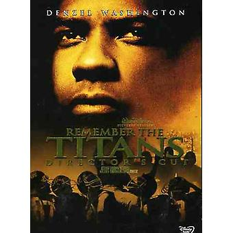 Remember the Titans [DVD] USA import