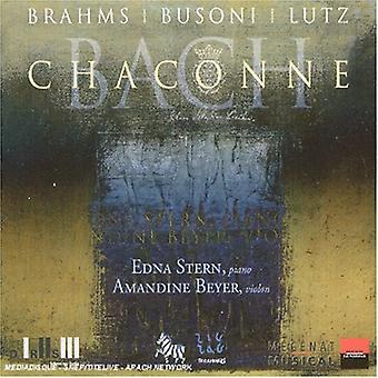 Brahms/Busoni/Lutz/Bach - Chaconne [CD] USA import