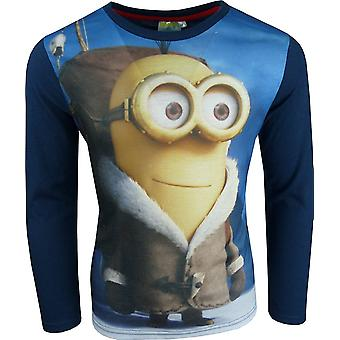 Boys Minions Long Sleeve T-Shirt
