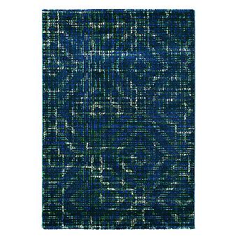 Luxury Teal Blue Designer Rug - Ted Baker 58507