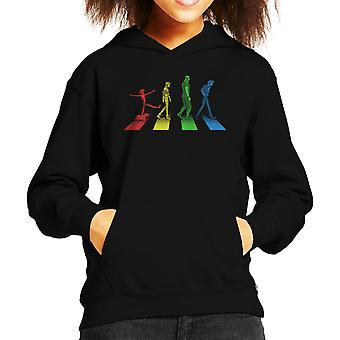 Stray Dog Strut Cowboy Bebop Kid's Hooded Sweatshirt