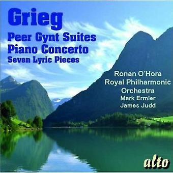 Grieg/O'Hora /Royal Pco - Peer Gynt Suites/Piano Concerto [CD] USA import