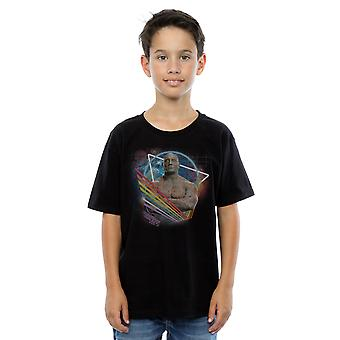 Marvel Boys Guardians of the Galaxy Neon Drax T-Shirt