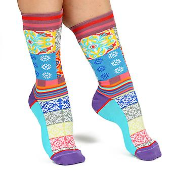 Azul men's silly cotton dress socks | Designed in France by Dub & Drino