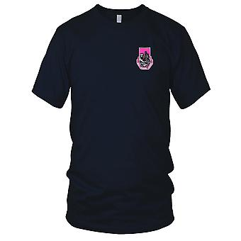 US Army - 318th Medical Battalion Embroidered Patch - Ladies T Shirt