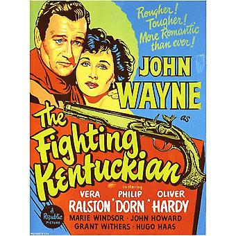 The Fighting Kentuckian Movie Poster (11 x 17)