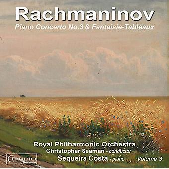 Rachmaninov / Costa / Royal Philharmonic Orchestra - Piano Concertos 3 [CD] USA import