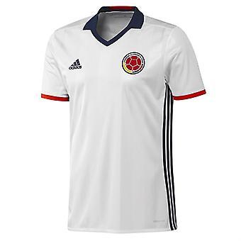 2016-2017 Colombia Home Adidas Football Shirt