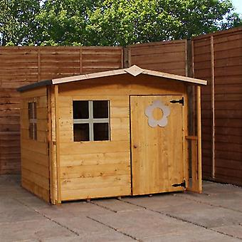 Mercia Rose Wooden Playhouse