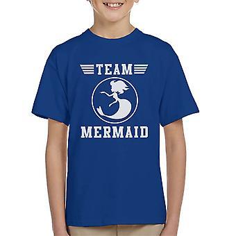 Team Mermaid Kid's T-Shirt