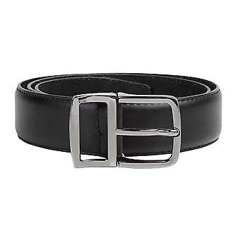 Duke Mens D555 Ashton Kingsize Leather Belt With Metal Keeper