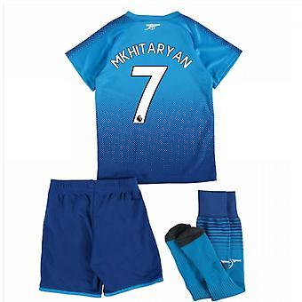 2017-18 Arsenal Away Mini Kit (Mkhitaryan 7)