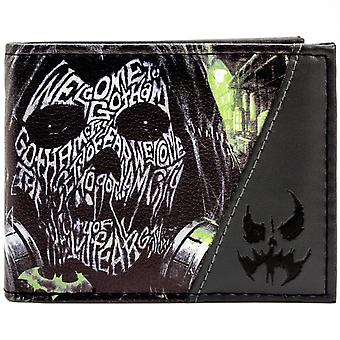 DC Comics Batman Arkham Knight ID & Card Bi-Fold Wallet