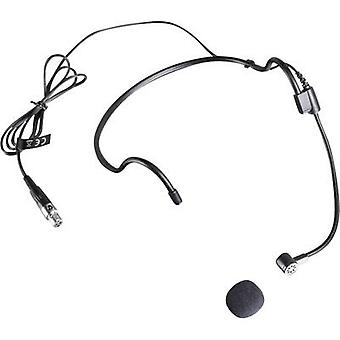 Headset Microphone (vocals) LD Systems LDWS100MH1 Transfer type:Corded incl. pop filter