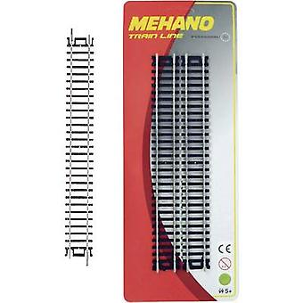 Mehano 30851 H0 set of 4 straight track