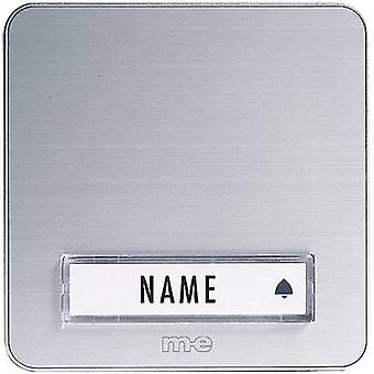 Bell panel with nameplate 1x m-e modern-electronics KTA-1 A/S