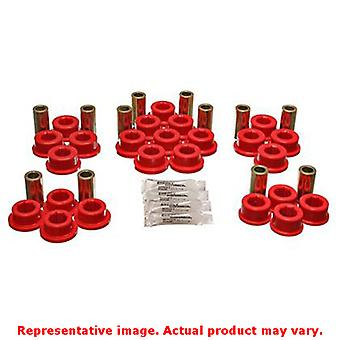 Energy Suspension Control Arm Bushing Set 8.3127R Red Rear Fits:TOYOTA 1987 - 1