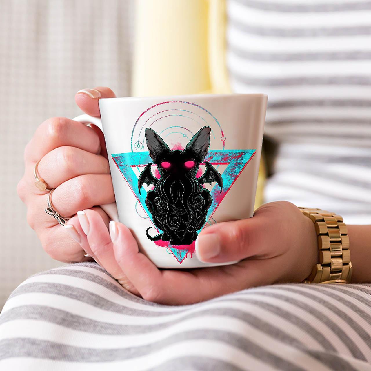 Evil Satan Animal NEW White Tea Coffee Ceramic Latte Mug 12 oz | Wellcoda