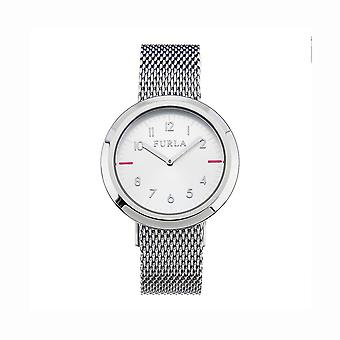 Furla R4253103505 Valentina Ladies Silver Dial Watch