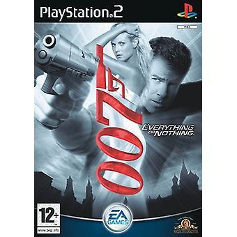 James Bond 007 Tout ou rien (PS2) - Factory Sealed