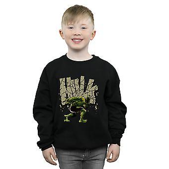 Jungen Marvel Hulk Rock Sweatshirt