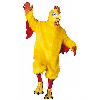 Chicken Costume Plush (Jumpsuit Gloves Socks Shoe covers Mask)