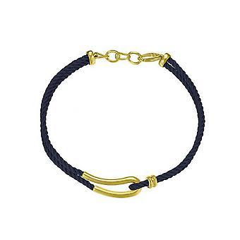 Йоп женщин цепи ожерелье нержавеющей стали золото силуэт JPNL10593C420