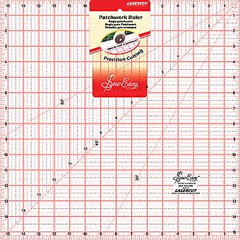 SewEasy Square Quilt Ruler-15.5