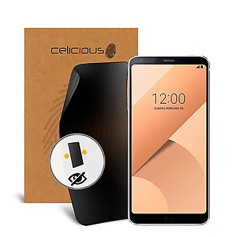 Celicious Privacy 2-Way Visual Black Out Screen Protector for LG G6+