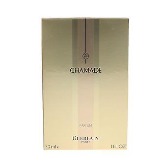 Guerlain 'Chamade' Parfum 1oz / 30ml Splash novo na caixa de edição de 2011