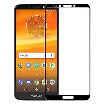 Motorola Moto E5 Plus 3D premium 0,3 mm H9 hartowane czarne szkło slajdów osłona Nowość