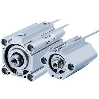 SMC Double Action Pneumatic Compact Cylinder 32Mm Bore, 50Mm Stroke