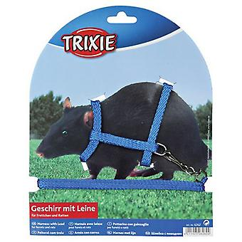 Trixie Harness for Rats and Ferrets, Fully Adjustable (Small pets , Leads & Harnesses)