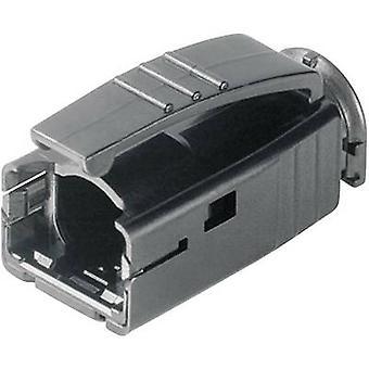 Manga de protección de torcedura STX RJ45 enchufe H86011A0006 negro Telegärtner H86011A0006 1 PC