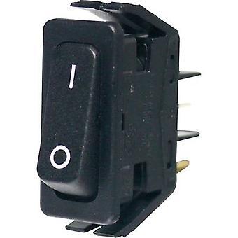 Arcolectric Toggle switch C6000ALAAA 250 V AC 16 A 1 X On/Off Klinke 1 PC