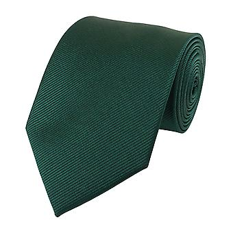 Neck tie necktie ties Binder wide 8cm bottle Green striped Fabio Farini